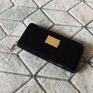 Michael Kors Black Patent Wallet